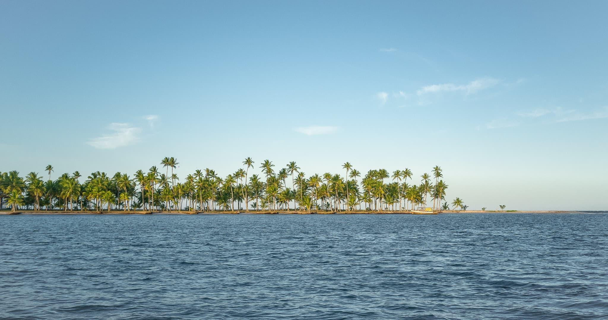 Ilha de Boipeba Penisula de Marau e Itacare